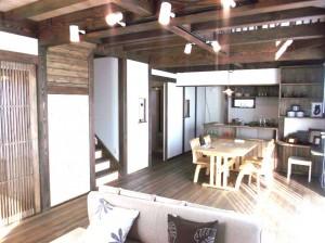 郷の家301S無垢材を使った自然素材の木の家
