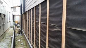 外壁のサイディングは胴縁に釘打ち工法