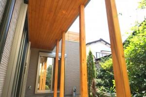 無垢の家 アプローチのリノベーション