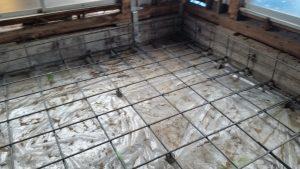 基礎の耐震補強工事 ベタ基礎