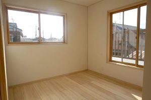埼玉のリノベ住宅の事例写真 2階寝室